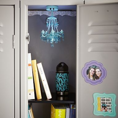 35 Best Images About My Locker On Pinterest Locker Decorations Intended For Turquoise Locker Chandeliers (Image 5 of 25)