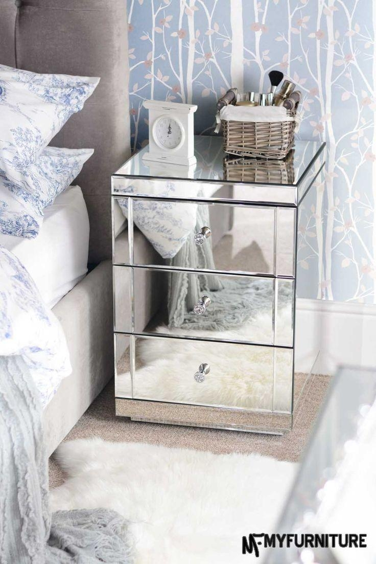 37 Best Our Bedroom Images On Pinterest | Mirrored Furniture With Mirrored Furniture (Image 2 of 20)