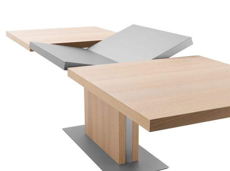 37 Best Table Images On Pinterest | Dining Room Tables, Tables And Pertaining To Square Extendable Dining Tables (View 15 of 20)