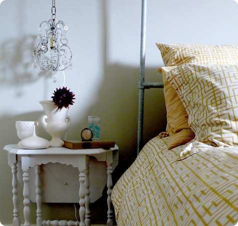 37 Cool Hanging Bedside Lamps Shelterness Intended For Chandelier Night Stand Lamps (Image 2 of 25)