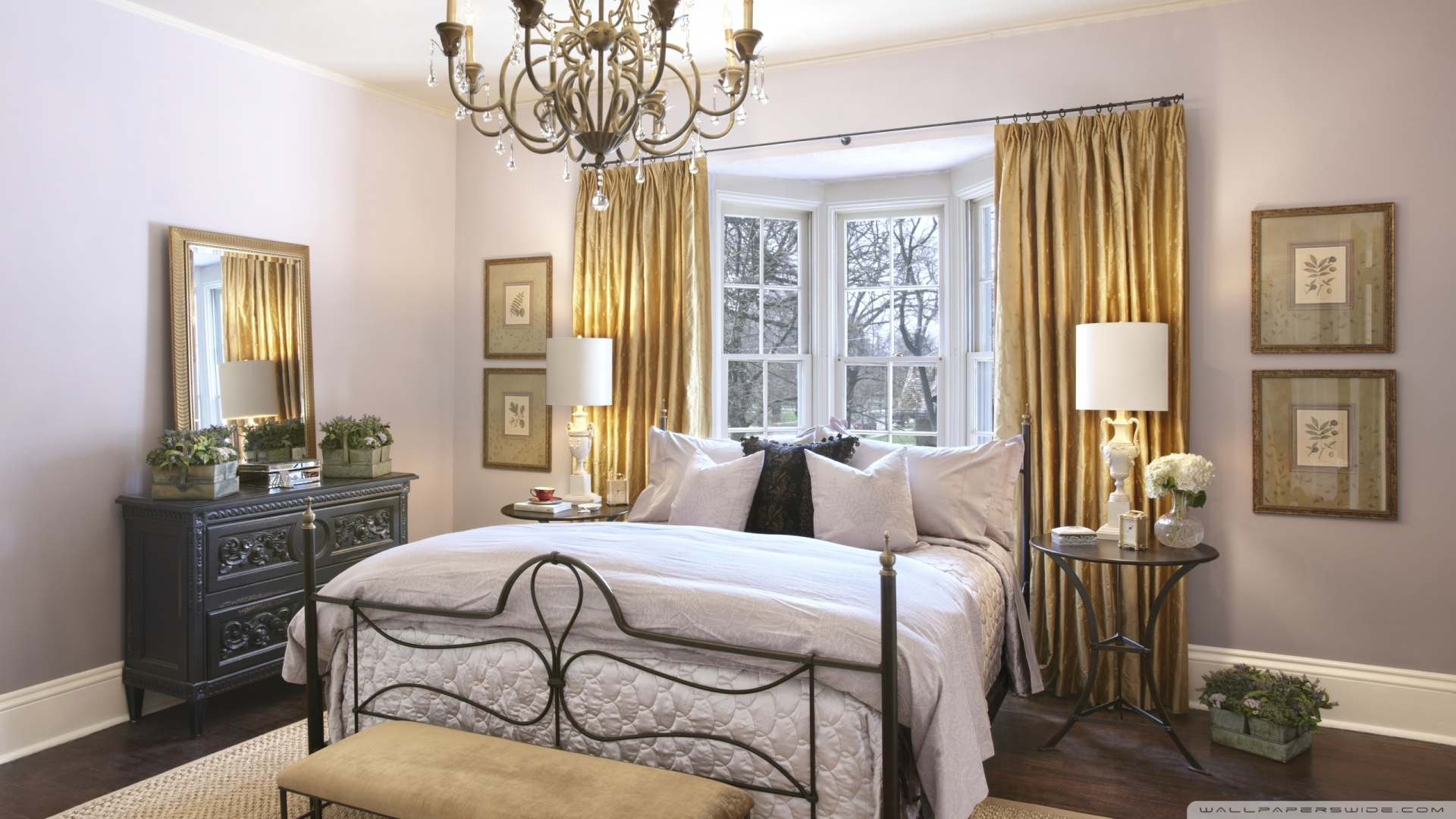 37 Startling Master Bedroom Chandeliers That Exudes Luxury Regina Regarding Chandeliers In The Bedroom (Image 1 of 25)