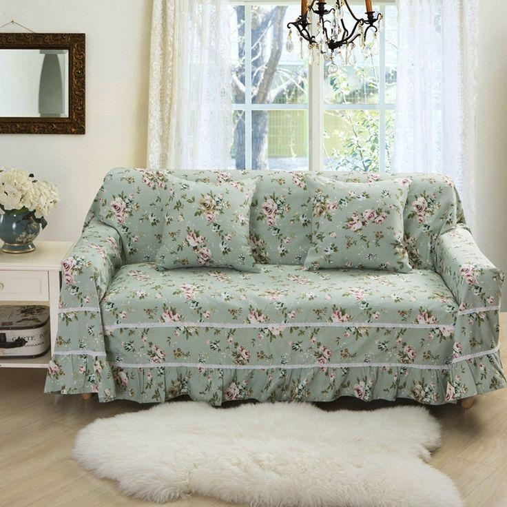 38 Best Couch Slipcovers Images On Pinterest | Couch Slipcover Within Floral Sofa Slipcovers (View 8 of 20)