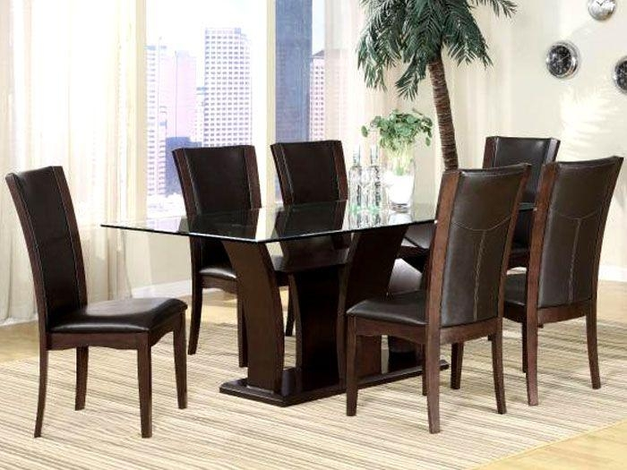 38 Best Dining Room Furniture Images On Pinterest | Dining Room Inside Glass 6 Seater Dining Tables (Photo 15 of 20)