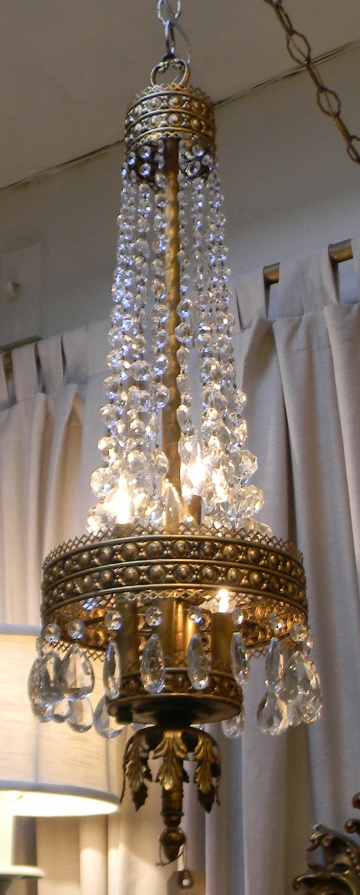 387 Best Chandeliers Crystals Images On Pinterest Crystal Throughout Lampshade Chandeliers (Image 3 of 25)
