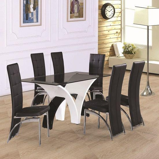 39 Best 6 Seater Wooden Dining Table Images On Pinterest | Wooden With Glass 6 Seater Dining Tables (View 16 of 20)