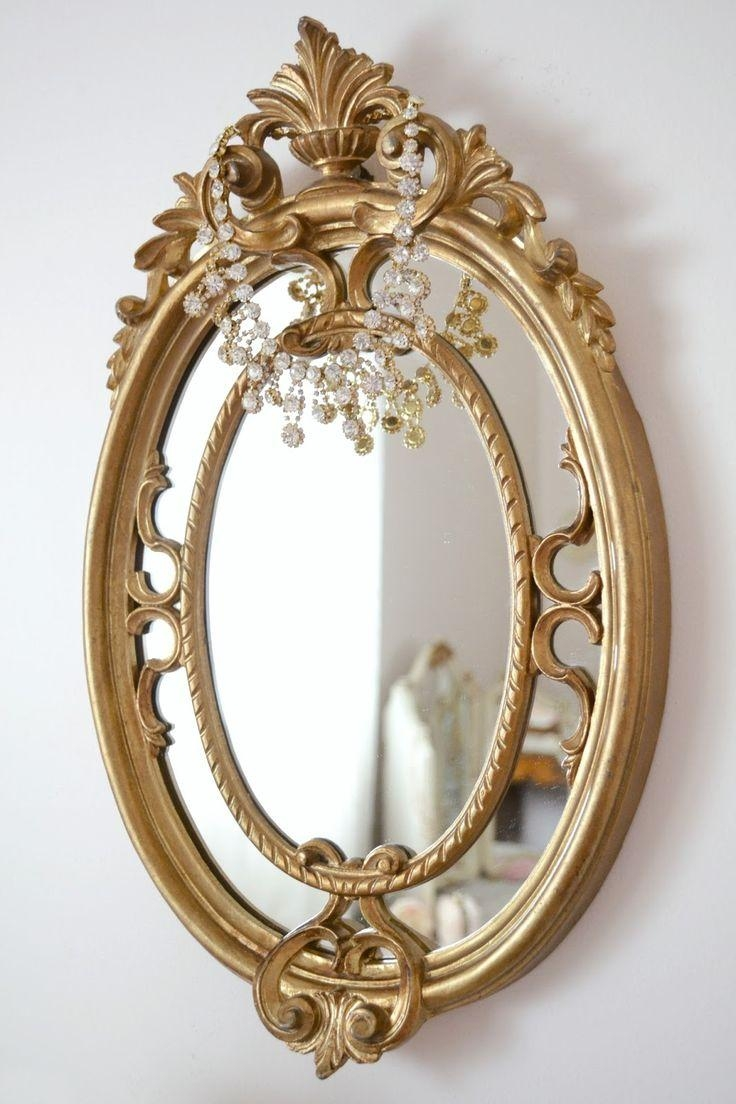 403 Best Mirror Mirror On The Wall Images On Pinterest | Mirror Throughout Vintage Gold Mirrors (Image 2 of 20)