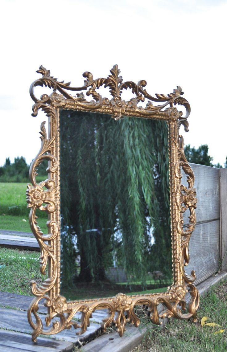 41 Best Gold Ornate Mirrors Images On Pinterest | Ornate Mirror Within Gold Ornate Mirrors (View 16 of 20)