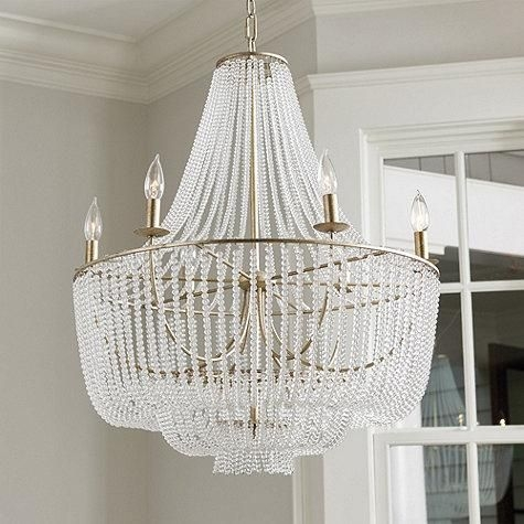41 Best Orb Chandeliers Images On Pinterest Inside Turquoise Beads Sixlight Chandeliers (Image 3 of 25)