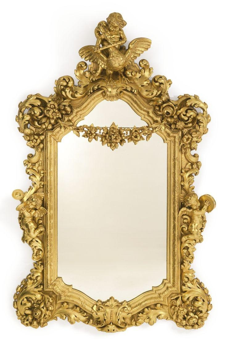 415 Best Mirrors Images On Pinterest | Antique Mirrors, Mirror In Ornamental Mirror (Image 1 of 20)