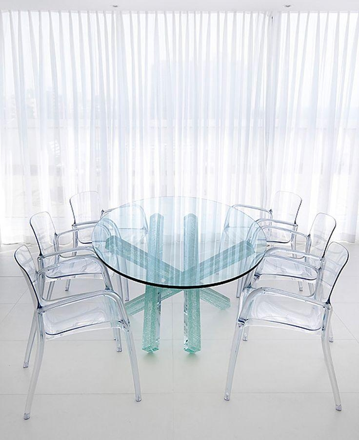 42 Best Transparent Furniture Images On Pinterest | Acrylic Throughout Acrylic Round Dining Tables (Image 3 of 20)