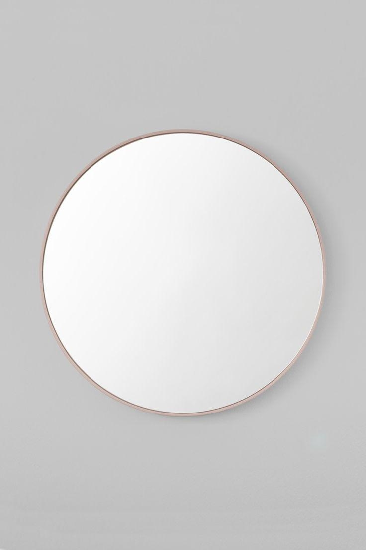 43 Best Mirror Images On Pinterest | Round Mirrors, Mirror Mirror Intended For Round White Mirror (Image 1 of 20)