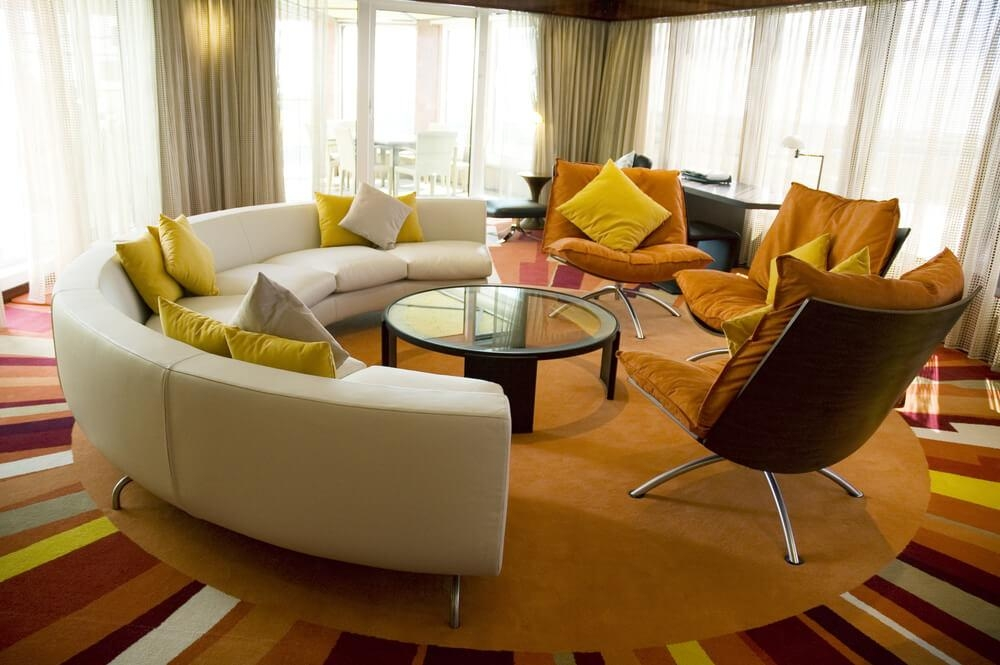 45 Contemporary Living Rooms With Sectional Sofas (Pictures Regarding Semi Sofas (Image 3 of 20)