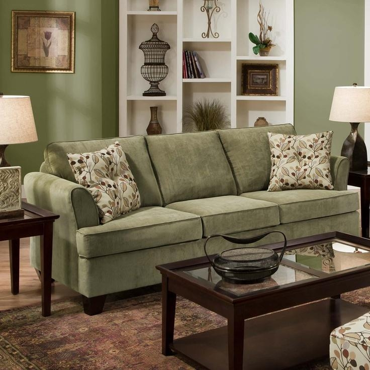 47 Best Green Sofas Images On Pinterest | Living Room Ideas, Green With Regard To Green Sofas (Image 3 of 20)