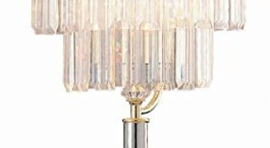 49 Chandelier Style Table Lamps Table Light Classic Home Inside Faux Crystal Chandelier Table Lamps (Image 2 of 25)