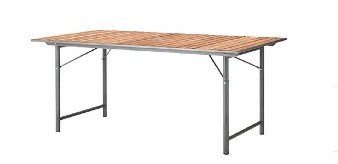 5 Favorites: Folding Outdoor Dining Tables – Gardenista For Folding Outdoor Dining Tables (Photo 3 of 20)