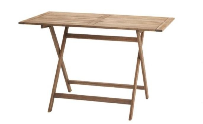 5 Favorites: Folding Outdoor Dining Tables – Gardenista Within Folding Outdoor Dining Tables (Photo 17 of 20)