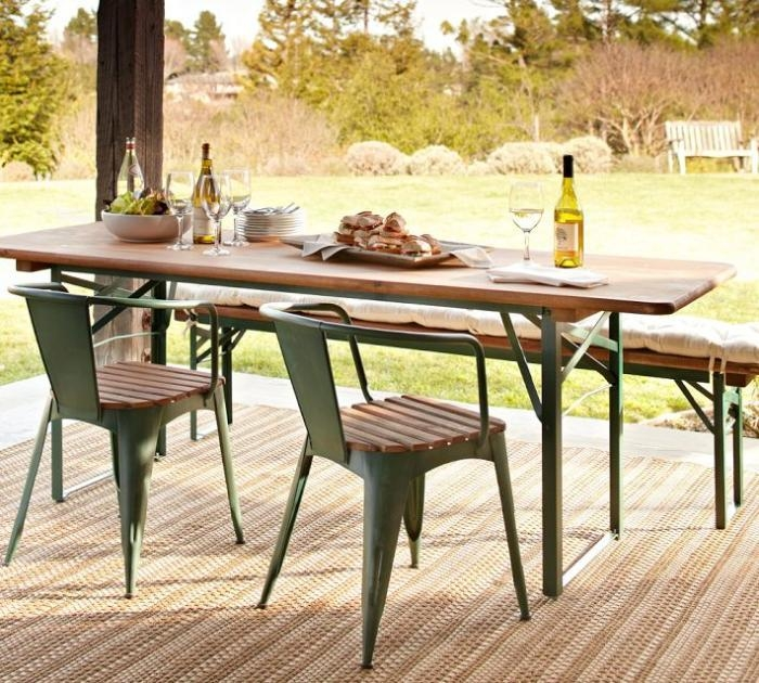 5 Favorites: Folding Outdoor Dining Tables – Gardenista Within Folding Outdoor Dining Tables (Photo 1 of 20)