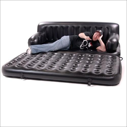 5 In 1 Inflatable Sofa King Air Bed In Blacksmart Air Beds Bd 0012 In Inflatable Sofa Beds Mattress (View 18 of 20)