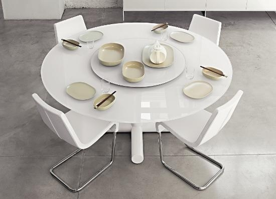 50 Round Dining Table Design Ideas | Ultimate Home Ideas Pertaining To Large White Round Dining Tables (Image 1 of 20)