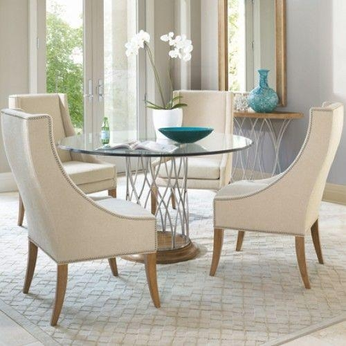 52 Best – Dining Tables – Images On Pinterest | Dining Tables Within Round Glass And Oak Dining Tables (Photo 9 of 20)