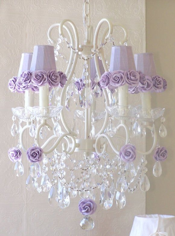 53 Best Chandeliers For Girls Room Images On Pinterest Pertaining To Chandeliers For Kids (Image 3 of 25)