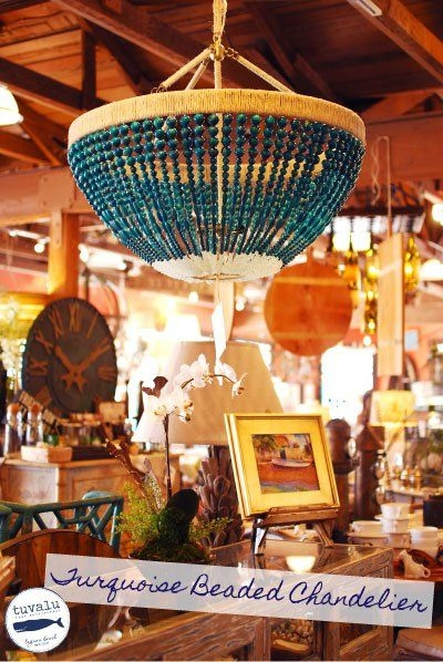54 Best Beaded Chandelier Images On Pinterest For DIY Turquoise Beaded Chandeliers (Image 7 of 25)