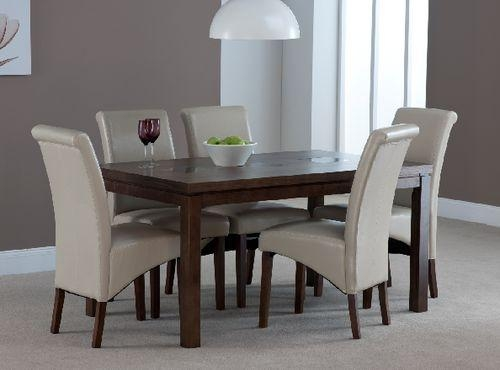 56 Best Contemporary Dining Sets Images On Pinterest | Dining Sets In Walnut Dining Table And 6 Chairs (Photo 20 of 20)