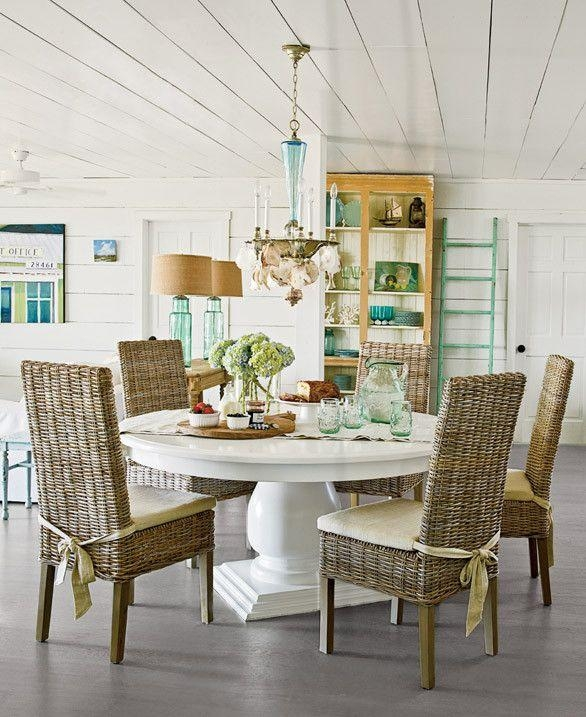 58 Best Beach Cottage Coastal Tables Images On Pinterest | Kitchen Throughout Coastal Dining Tables (View 4 of 20)