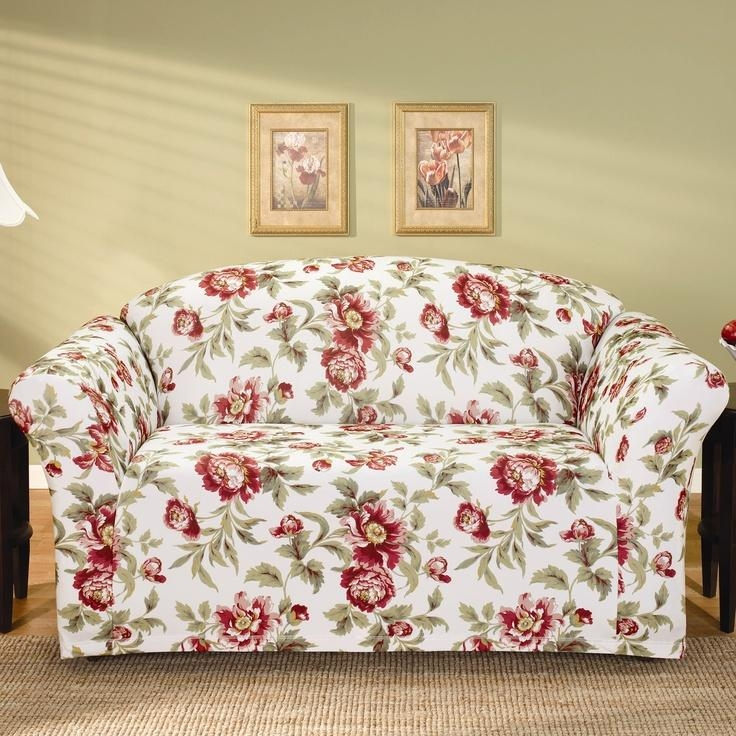 58 Best Sofa Covers Images On Pinterest | Sofa Covers, Sofas And Regarding Floral Sofa Slipcovers (View 15 of 20)