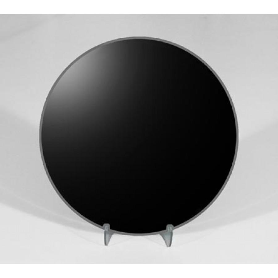 6 Inch Round Black Scrying Mirror | Divination, Magic Mirrors Throughout Round Black Mirrors (Image 1 of 20)