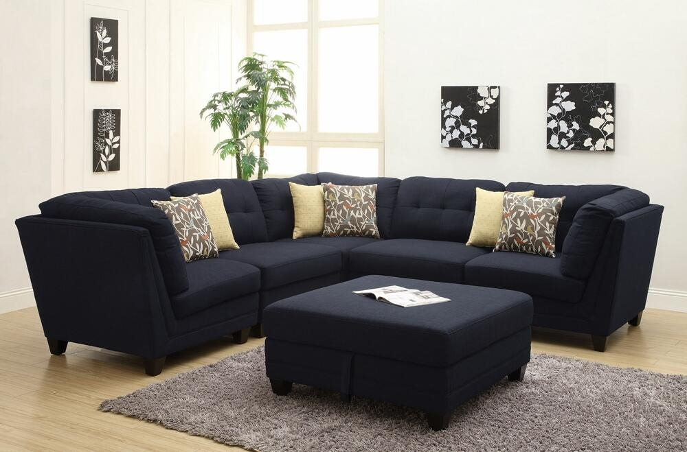 6 Pc Keaton Collection Intended For Midnight Blue Sofas (Image 4 of 20)