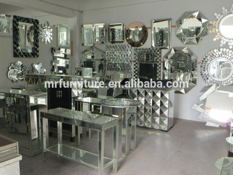 6 Person Mirrored Dining Table  Antique Mirror – Buy Mirrored Throughout Antique Mirror Dining Tables (Image 5 of 20)