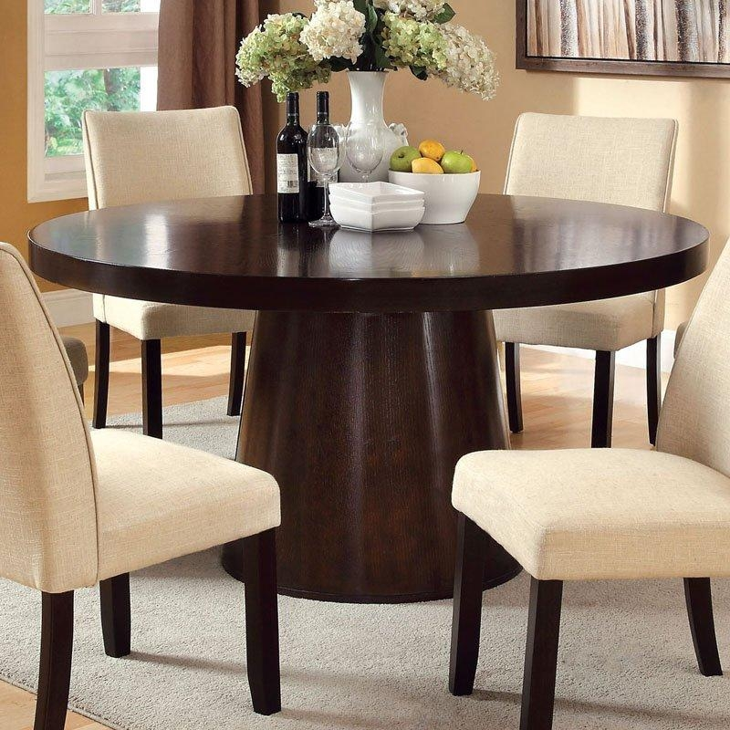 6 Person Round Dining Table – Starrkingschool In Round 6 Person Dining Tables (Image 1 of 20)