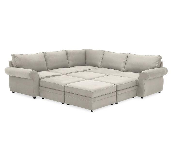6 Piece Sectional Sofa | Design Your Life Pertaining To 6 Piece Sectional Sofas Couches (Image 2 of 20)