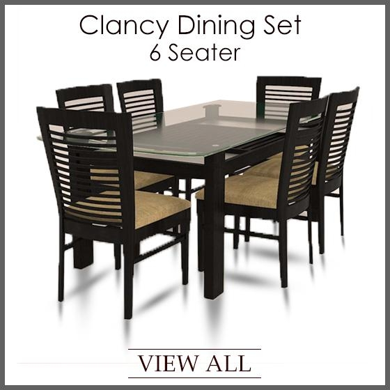 6 Seater Dining Set | Six Seater Dining Table And Chairs In 6 Seat Dining Tables And Chairs (Image 3 of 20)