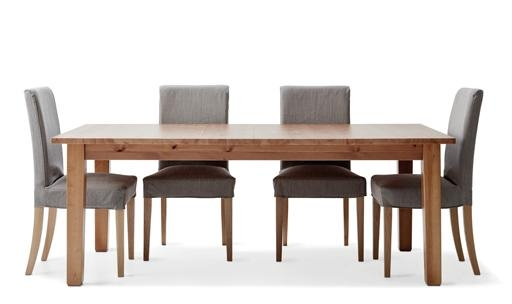 6 Seater Dining Table & Chairs | Ikea Within 6 Seat Dining Tables And Chairs (Image 7 of 20)