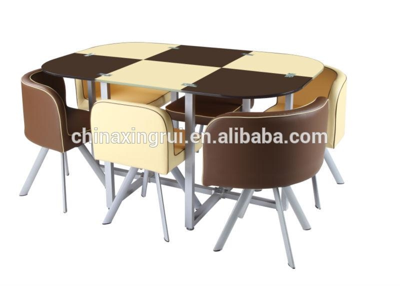 6 Seater Glass Dining Table – Buy Glass Dining Table 6 Chairs Set For Six Seater Dining Tables (Image 8 of 20)