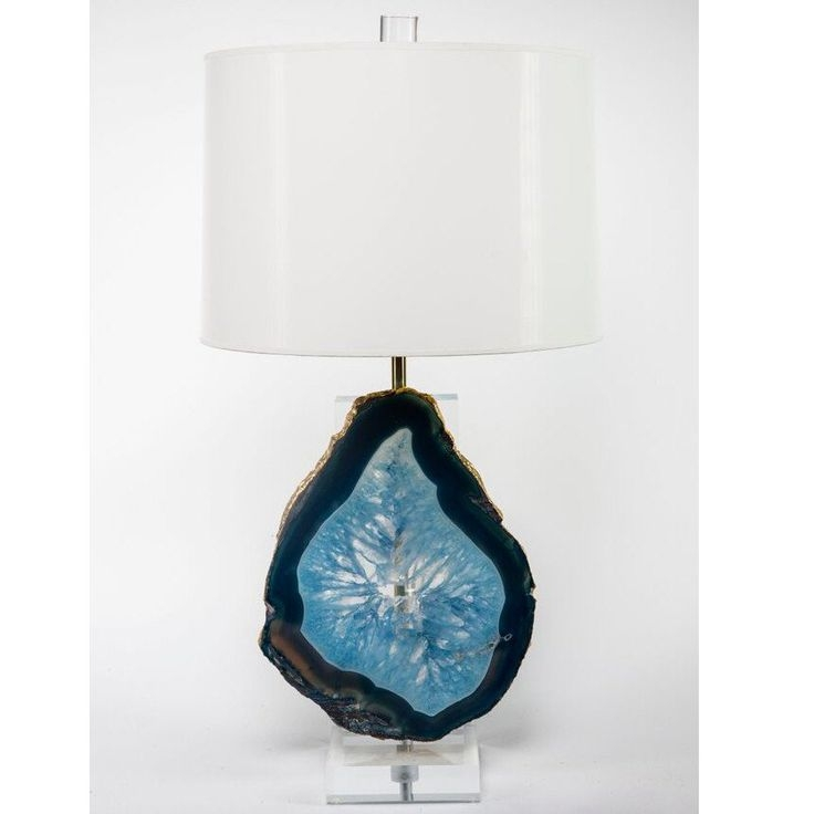 61 Best Gems Details Defined Images On Pinterest Agates Agate Intended For Turquoise Gem Chandelier Lamps (Image 10 of 25)