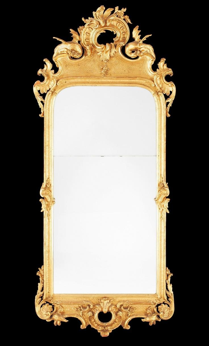 65 Best Mirrors Images On Pinterest | Mirror Mirror, Antique Within Rococo Mirror Gold (Image 7 of 20)