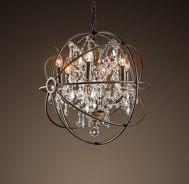 66 Best Chandelierslighting Images On Pinterest Regarding Small Rustic Crystal Chandeliers (Image 1 of 25)
