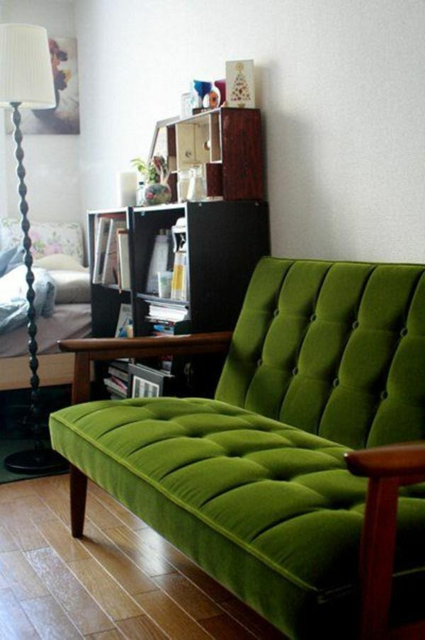 66 Green Sofas In Various Shapes And Designs – Fresh Design Pedia With Regard To Green Sofas (Image 4 of 20)