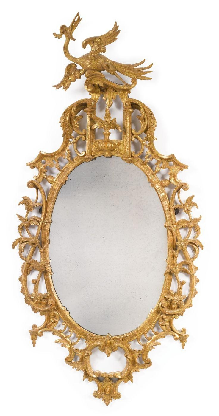 674 Best Spiegels En Frames Antiek En Nieuw Images On Pinterest Intended For Reproduction Antique Mirrors For Sale (Image 12 of 20)
