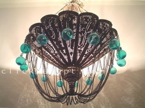 68 Best Lightingtracy Porterpoetic Wanderlust Images On Pinterest In Turquoise Ball Chandeliers (Image 10 of 25)