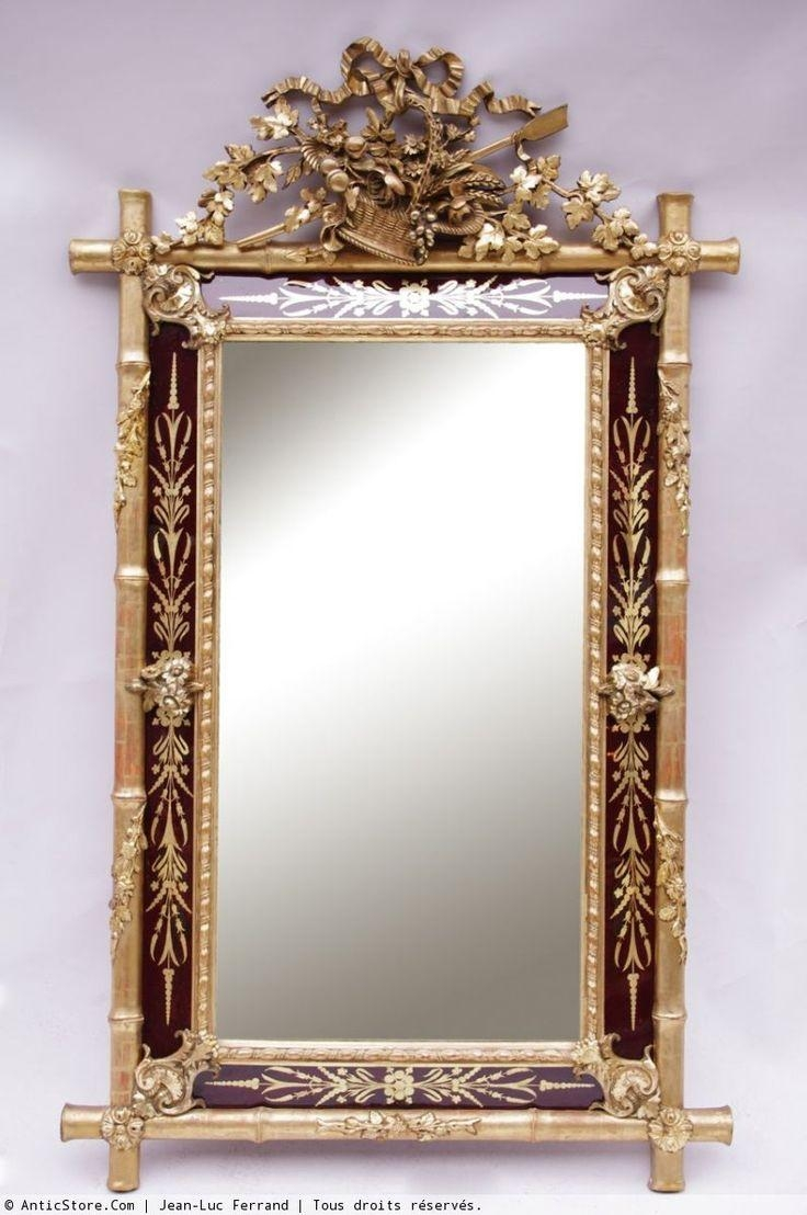 694 Best Antique Mirrors Vintage Looking Glass Images On Pinterest Throughout Vintage Looking Mirror (View 10 of 15)