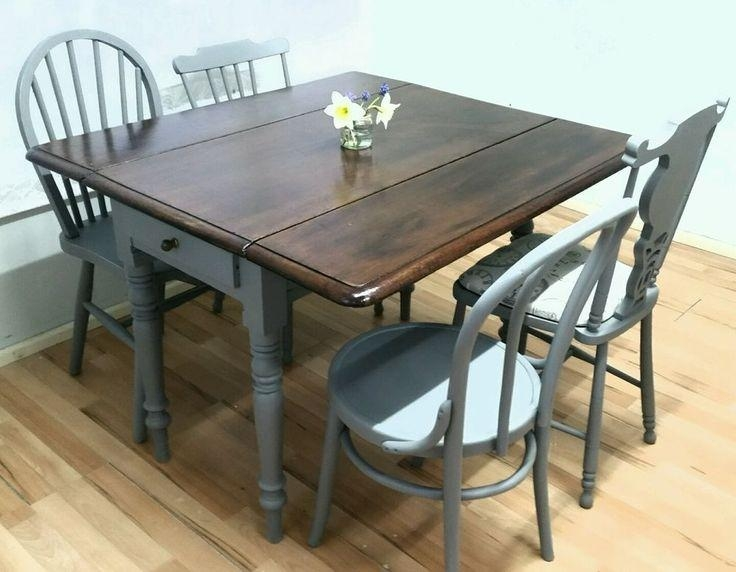 70 Best Old Drop Leaf Tables Images On Pinterest | Drop Leaf Table Regarding Drop Leaf Extendable Dining Tables (Image 1 of 20)