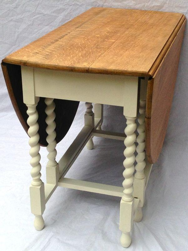 70 Best Old Drop Leaf Tables Images On Pinterest | Drop Leaf Table Within Large Folding Dining Tables (Photo 12 of 20)
