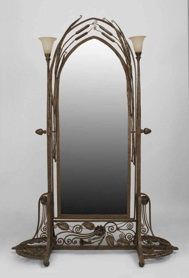 Featured Image of Wrought Iron Standing Mirror
