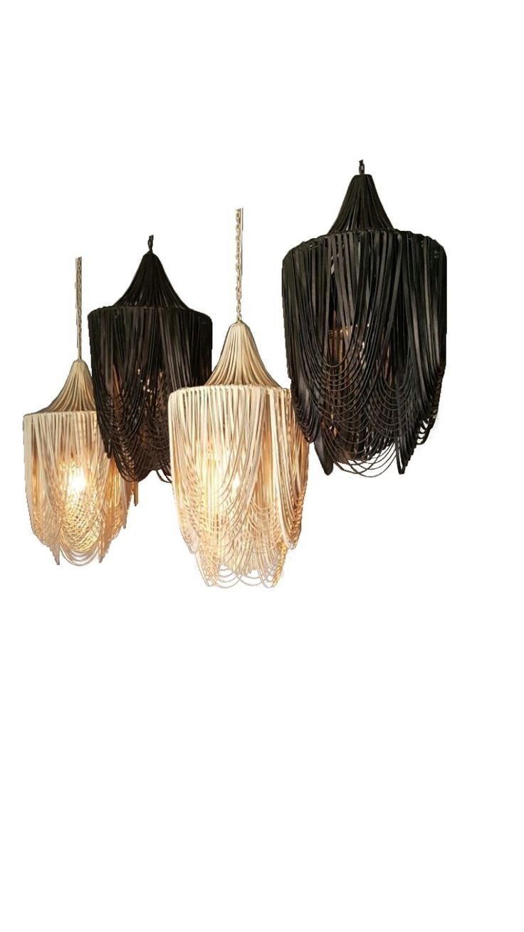 700 Best Lighting Chandeliers Images On Pinterest Chandeliers Within Leather Chandeliers (View 9 of 25)