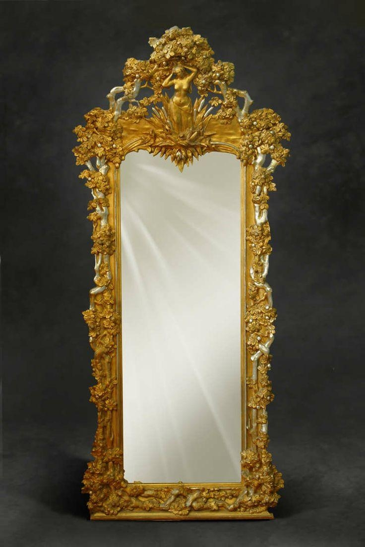 731 Best Mirrors Images On Pinterest | Mirror Mirror, Mirrors And Within Antique Long Mirror (Image 1 of 20)