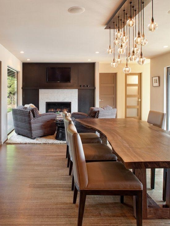 75 Best Lighting Images On Pinterest | Entryway, Chandeliers And Pertaining To Lighting For Dining Tables (Photo 9 of 20)